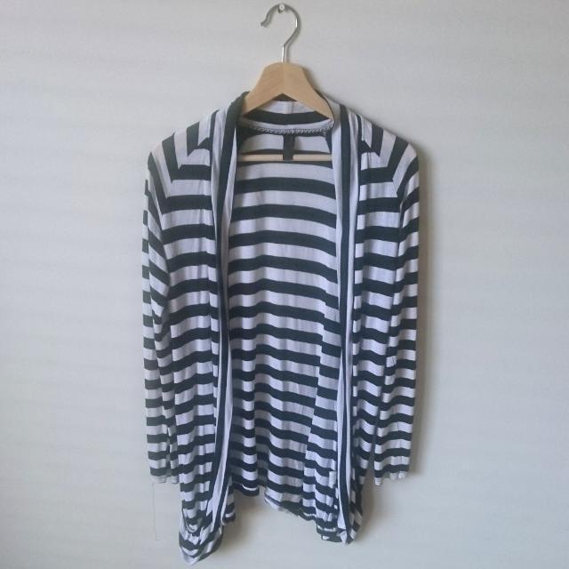 Size 10 | Striped Cardigan
