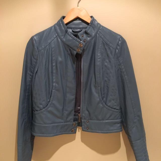 Sz 10 Blue Leather Ladakh