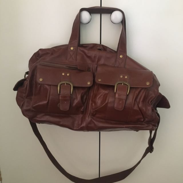 Tan Duffle Bag