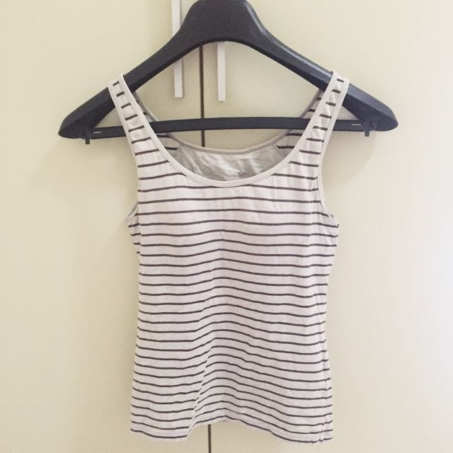 Tanktop Uniqlo Stripe