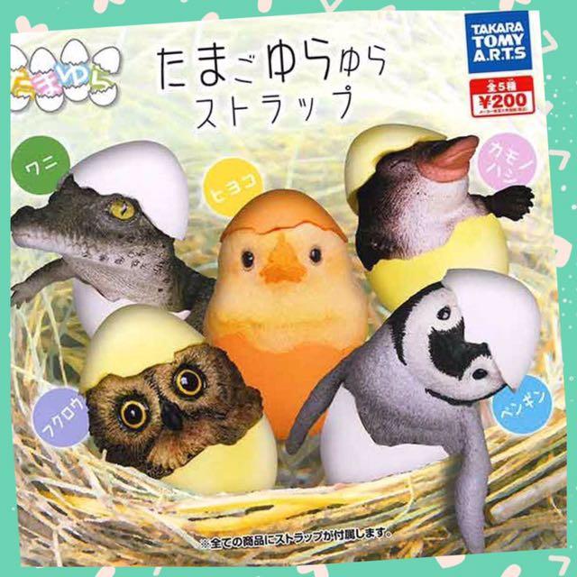 【可愛扭蛋專賣店】T-ARTS 剛孵化的動物幼兒 全套5隻 扭蛋轉蛋 現貨不用等 鱷魚 動物扭蛋的最新系列