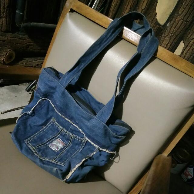 Tas Tote Bag Jeans