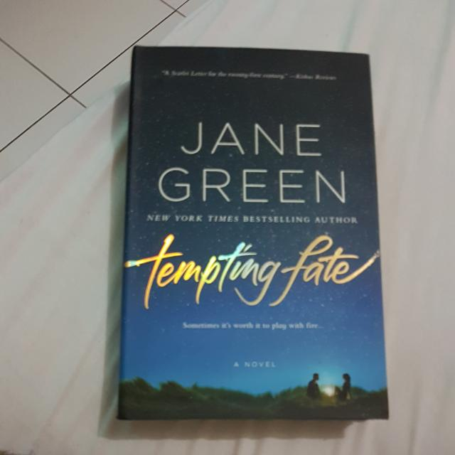 Tempting Fate- Jane Green (Hard Cover- English)