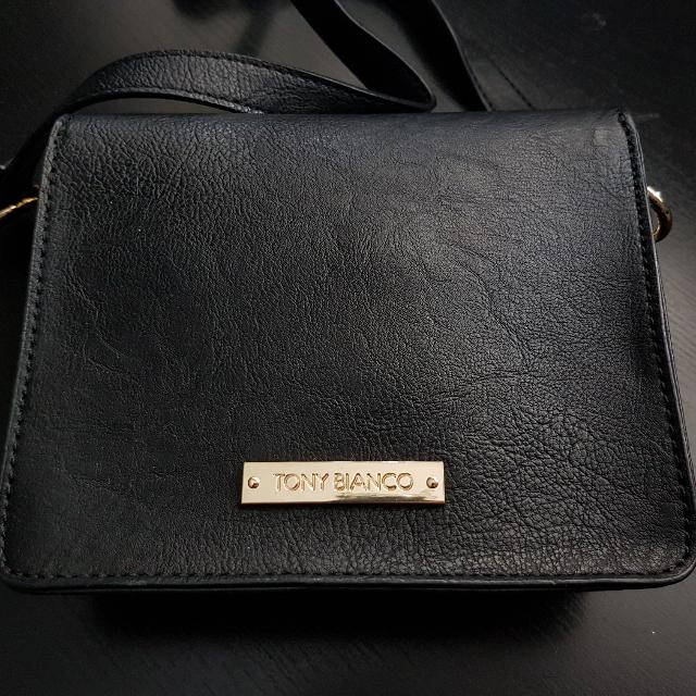 Tony Bianco Black Sloane Sling Bag