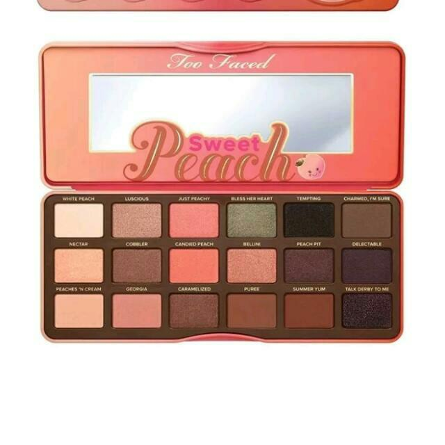 Too Faced Eye shadow Pallets