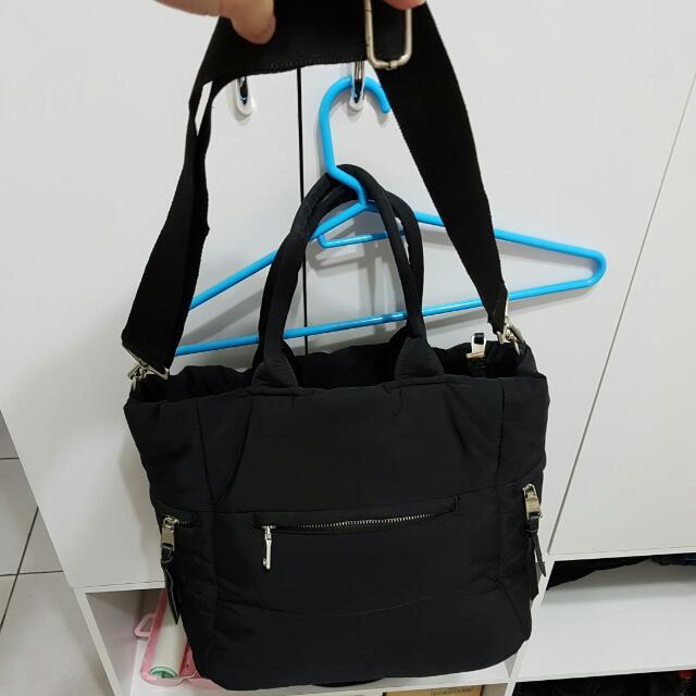 Unita正韓國製黑色包包 手提肩背斜背