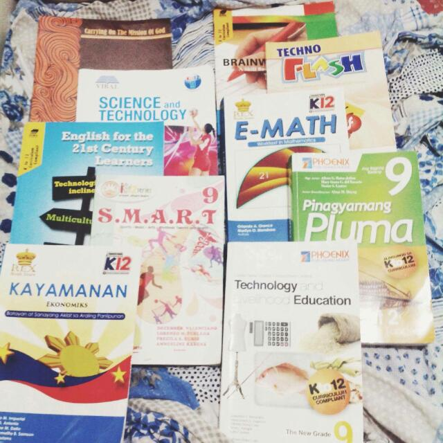 USED K12 GRADE 9 TEXTBOOKS