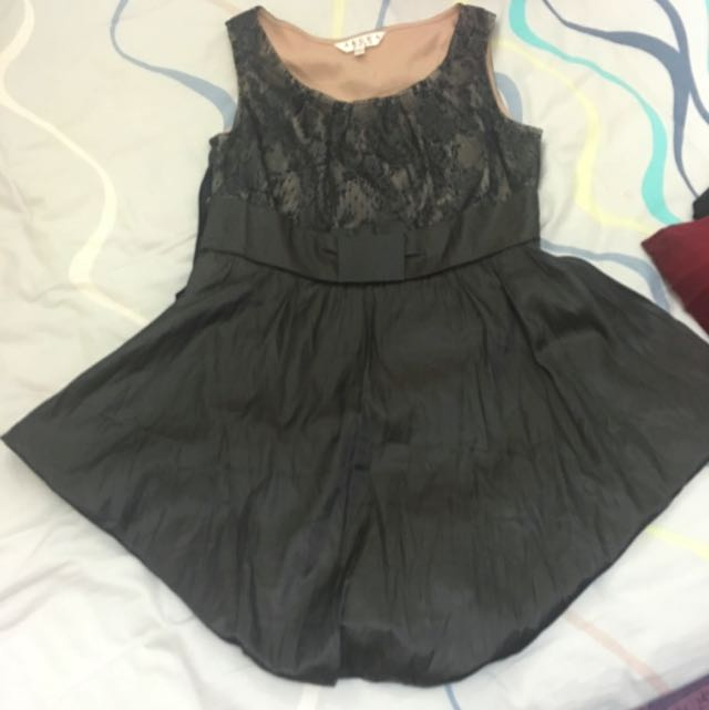 V Shape Dress