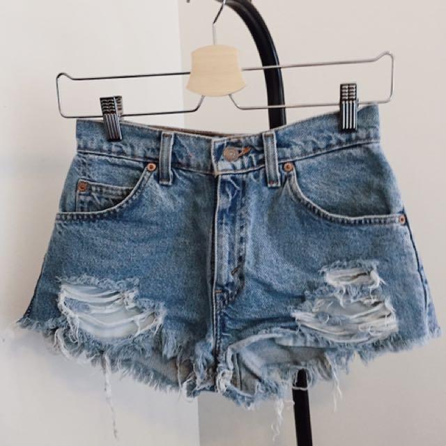Vintage Levi's High Waist Shorts