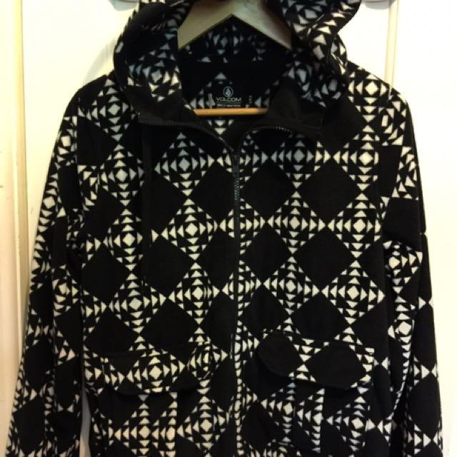 Volcom. Size 12, Fleecy Jacket