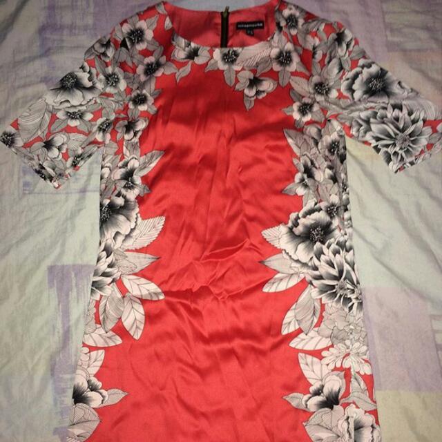 warehouse dress preloved
