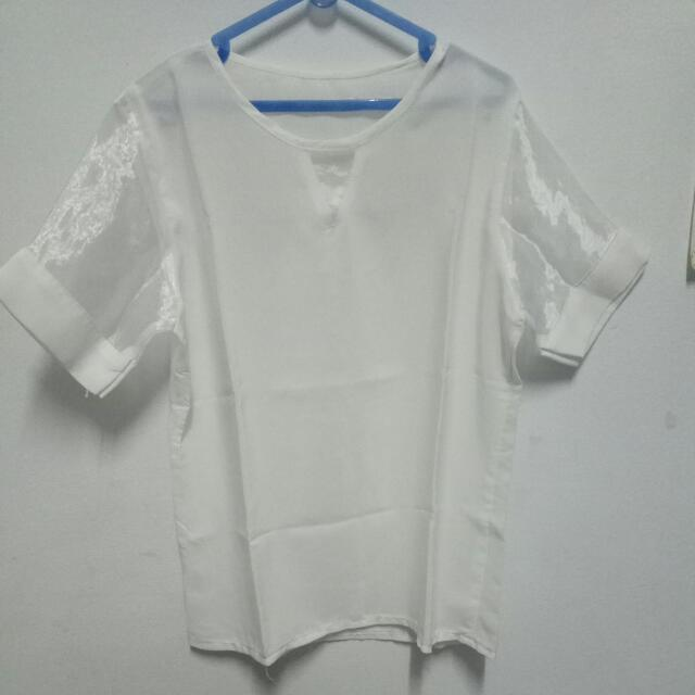 White Blouse #midnightsale