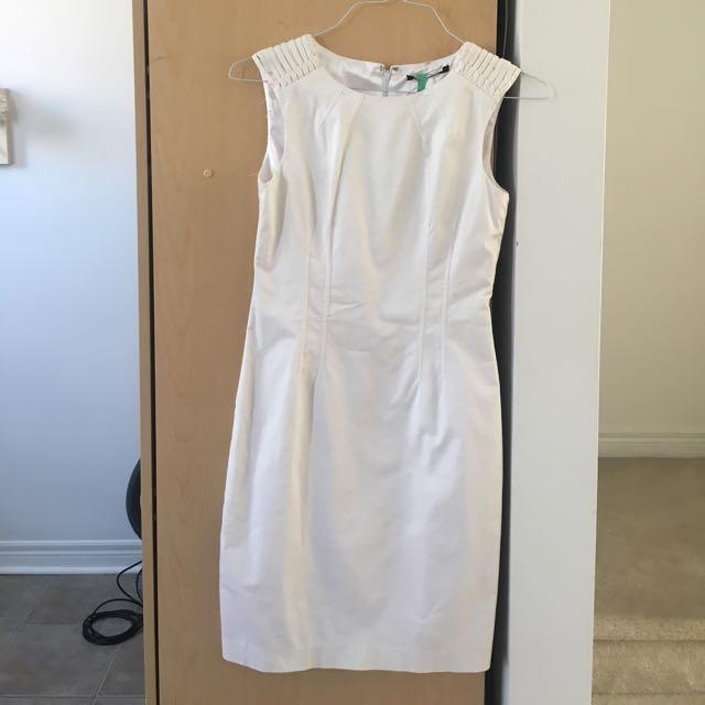 White Dress Size Zero