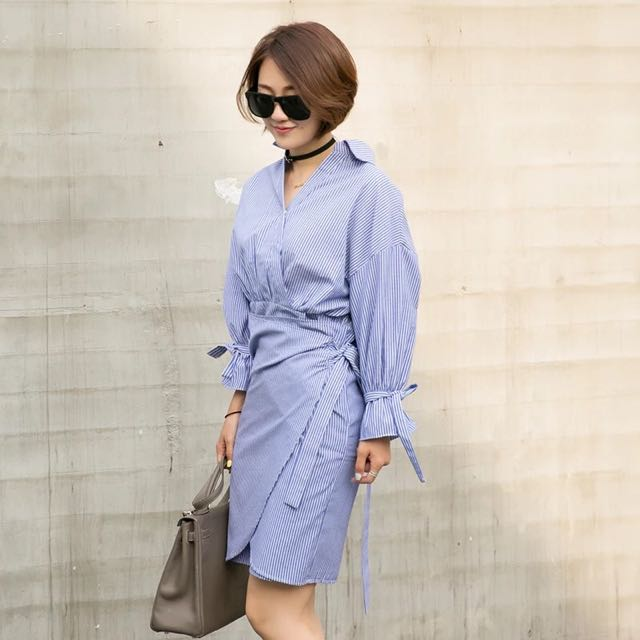 Wrapped Up Dress From Korea