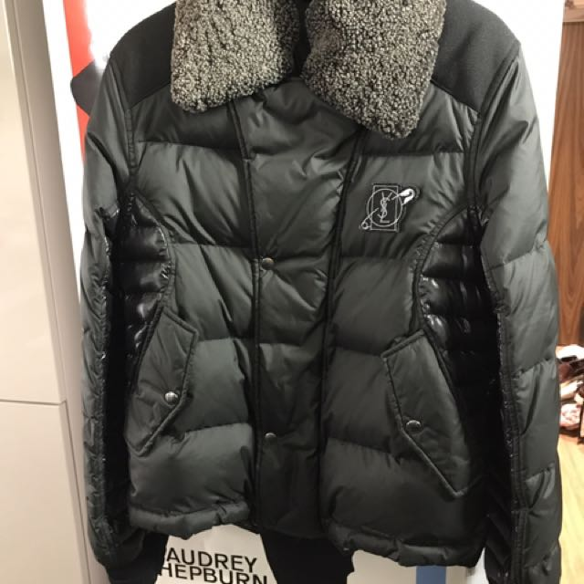 dc238309f98 YSL Down Jacket, Luxury, Apparel on Carousell