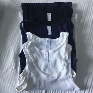 4 American Apparel Tank Tops