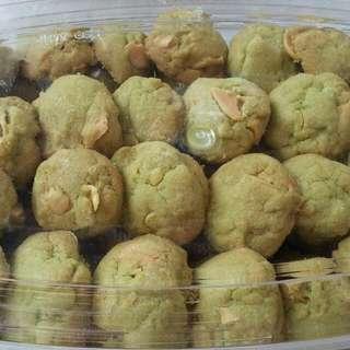 Green Tea Cookies Lebaran. Kue Kering