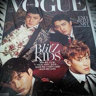 EXO Maknae Line Vogue Magazine