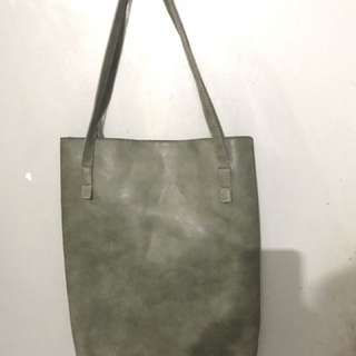 Army Tote With Pouch