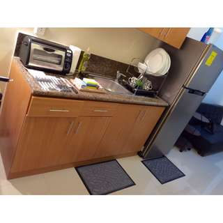 FOR RENT 1BR FULLY FURNISHED THE TRION TOWER IN BGC MIN OF 6MOS
