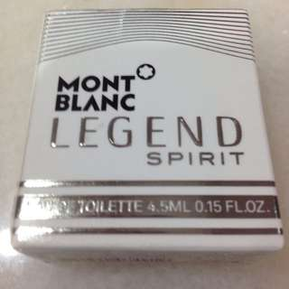 Perfume Mont Blanc Legend Spirit 4.5ml