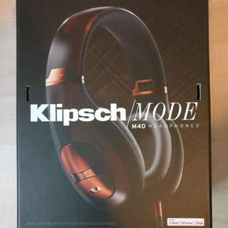Klipsch M40 Noise Cancelling Headphones