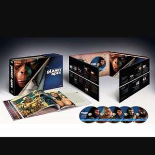 planet of the apes bluray