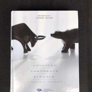 Hardcover Finance Textbook