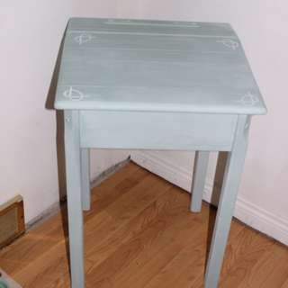 Blue Antique desk