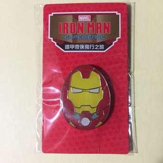 花蛋 鐵甲奇俠 Iron Man 迪士尼 徽章 Disney Pin