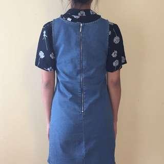 Denim Dress Medium (can fit Small)