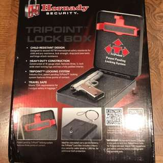 Hornady TriPoint lock box safe - new, includes box