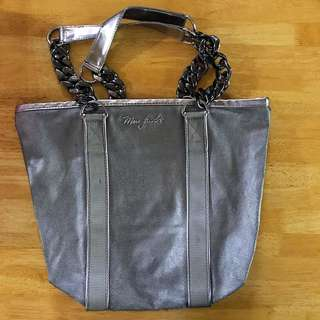 Authentic Marc Jacobs Metallic Tote Bag