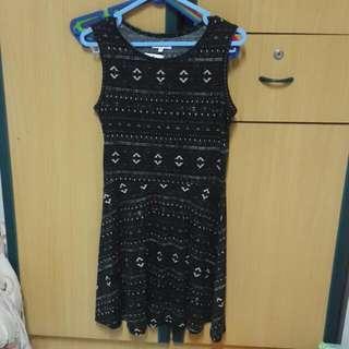 Black Tribal Colorbox Dress