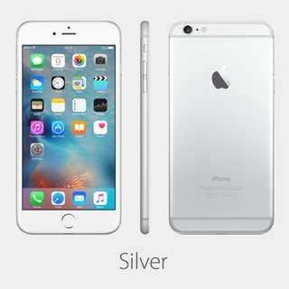 iPhone 6plus 128BG Silver Space Grey