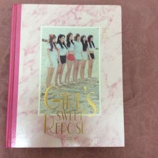 Apink Official Girl's Sweet Repose Photobook