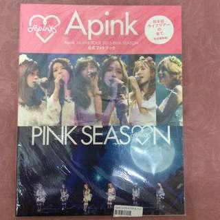 Apink Official Pink Season Japan Concert Photobook