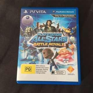 PS Vita All-stars Battle Royale