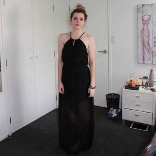 Black Full Length Dress