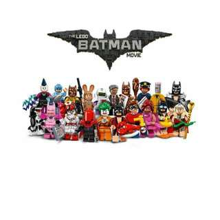 QQBricks LEGO 71017 Batman Movie Series Set of 20 Minifigures