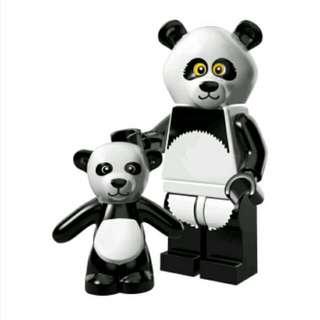 Lego Minifigures Lego Movie Series - Panda Man