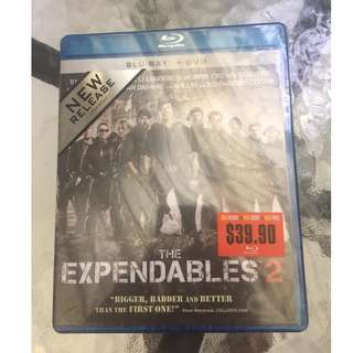 The Expendables 2 (Blu-ray + DVD) (Authentic) (Unopened)