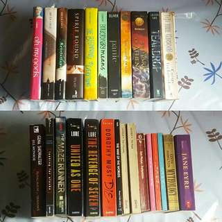 Books For Sale (Individual Prices In The Description)