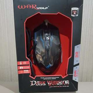 mouse gaming war wolf