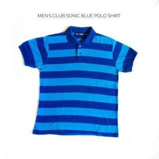 Men's Club Sonic Blue Polo Shirt
