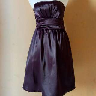 Mini Dress/ Party Dress SecondHand Purpple