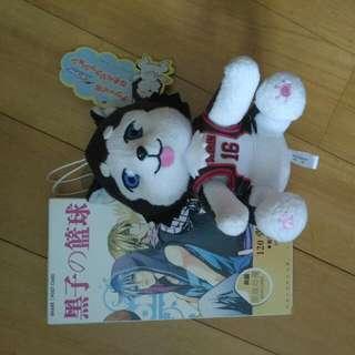 黑子的篮球明信卡/公仔 Kuroko's Basket Plushie And Postcards