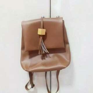 Ransel PU Leather