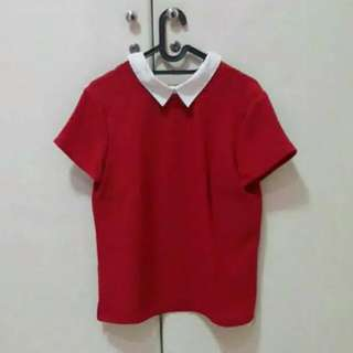 Cottonink Collared Top