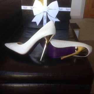 'Miss Kourtney' Peeptoe Shoes Size 36
